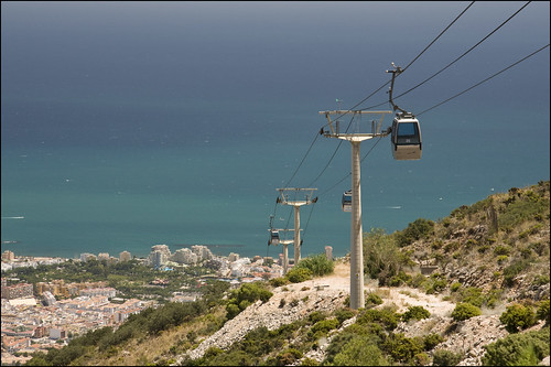 Benalmadena, Teleferico Cable-car