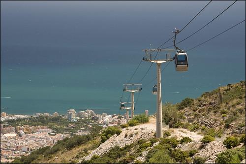 Benalmadena, Teleferico Cable-car