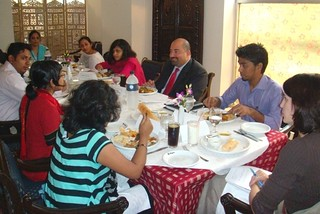 ADAS Keshap Enjoys Lunch With Bangladeshi Youth Community Leaders