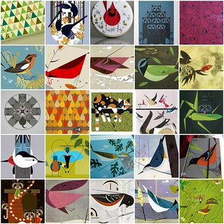 Charley Harper Inspiration - Nature Focus