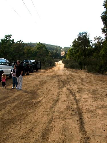 Start point (Flynn road, Powerline Junction)