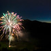 Over Fireworks, over Derwent Water