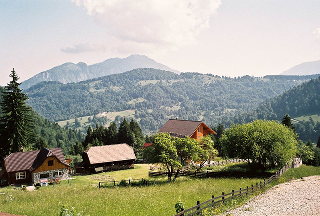 Romania Carpathian View by CC user naterobert on Flickr
