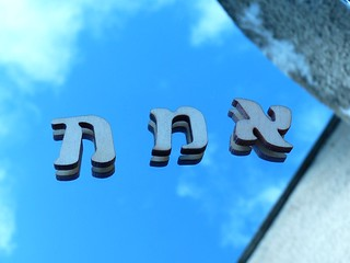 Hebrew Letters in the Mirror