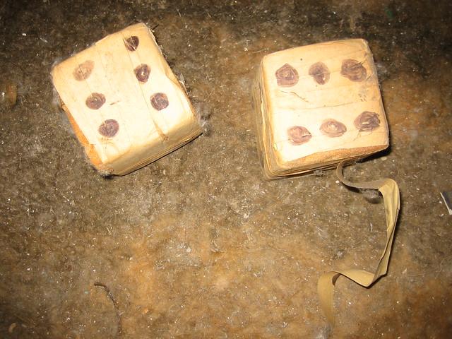 homemade lucky dice