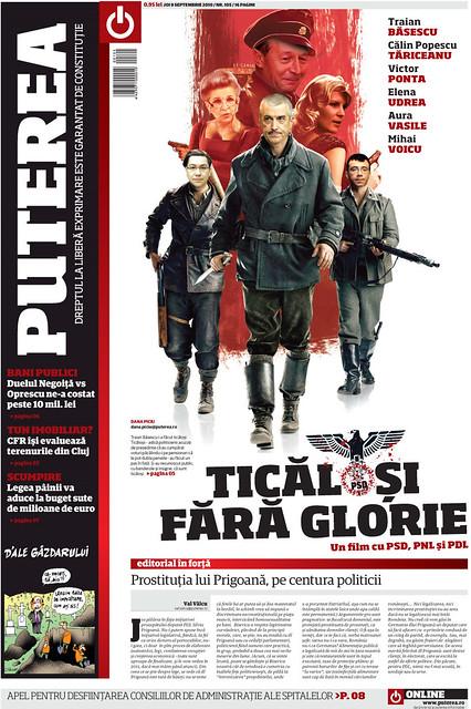 ziarul Puterea 9 sept 2010