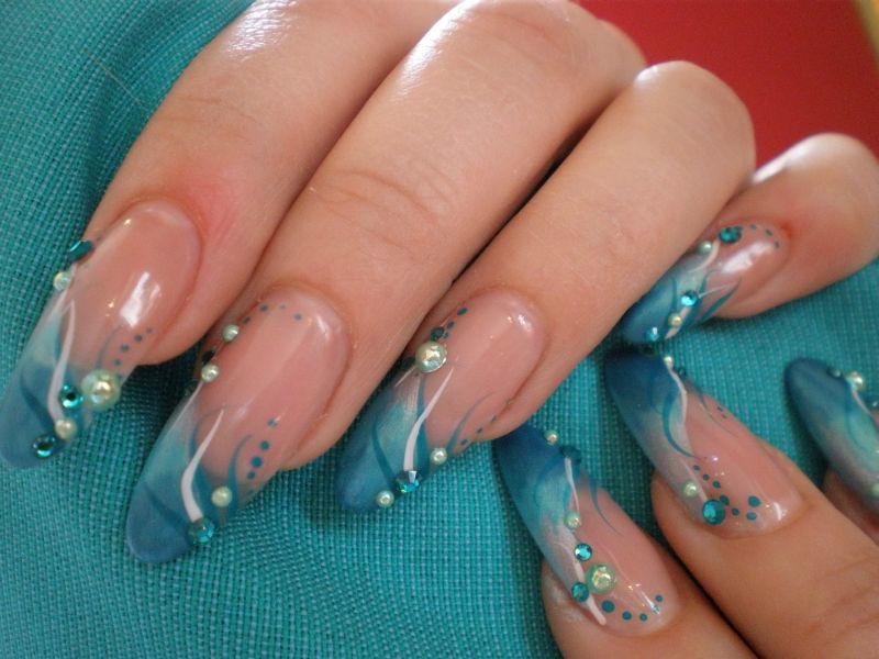 Awesome Nails Schwarz Pink Picture Collection - Nail Art Design ...