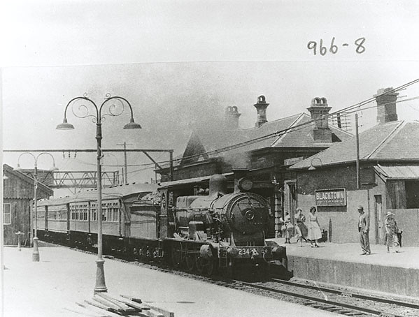 Blacktown Train Station Car Park Map