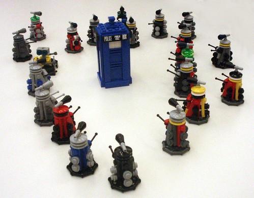 Small Lego Dalek