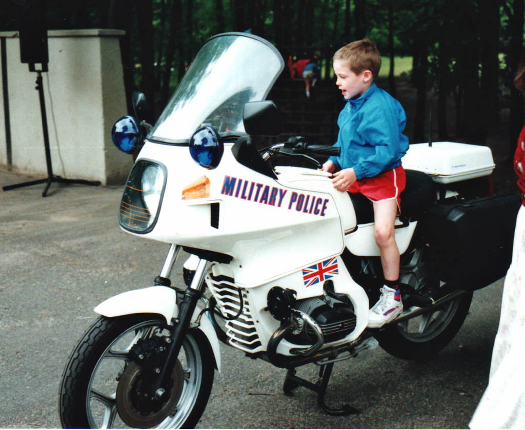 RMP BMW Motor Cycle July 1991