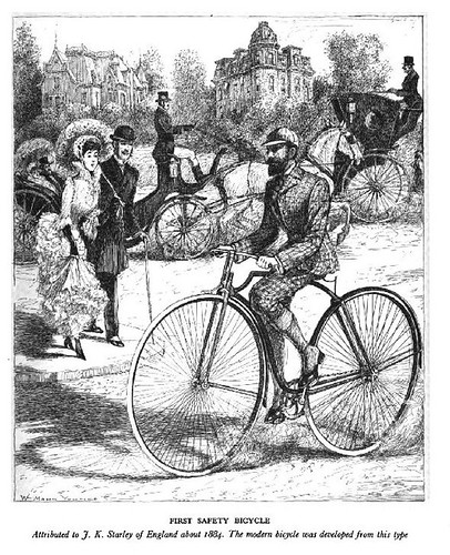 First Safety Bicycle