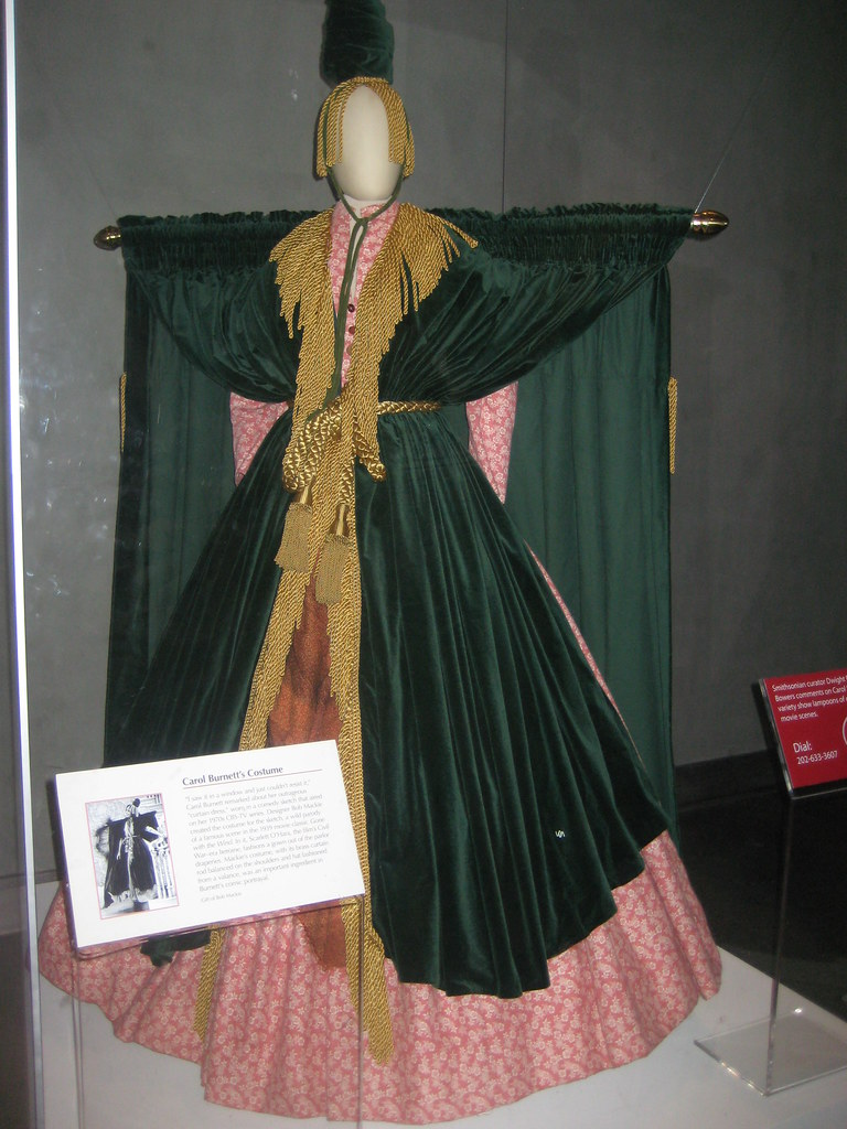 Carol Burnett's Curtain Gown | Explore woofiegrrl's photos o ...