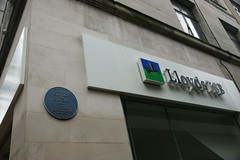 Photo of Gild Hall of the Holy Cross, Birmingham and King Edward VI School blue plaque