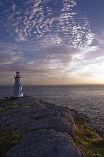 ocean sky lighthouse canada clouds sunrise newfoundland nikon rocks capespear d90