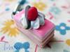 Strawberry Opera cake