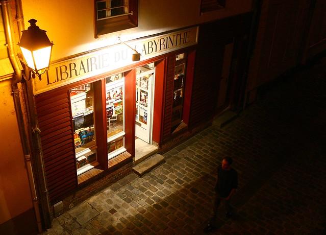 amiens, librairie du labyrinthe