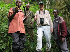 Finch Netting in Uganda