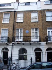 Photo of Walter R. Sickert blue plaque