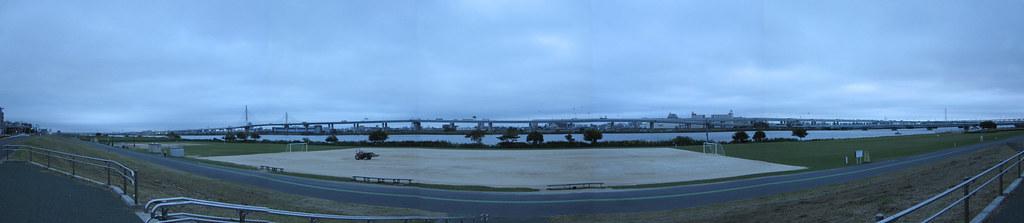 Arakawa early morning Panorama