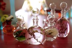 perfume, glass bottle, bottle, glass,