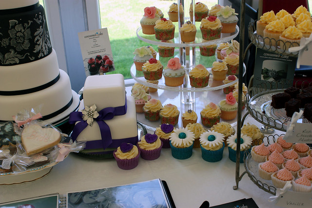 Consumed by Cake at Stylish Events Wedding Fayre, Fontwell Racecourse 26th September 2010