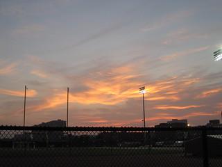 Sunset over Cambridgeport