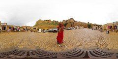 Jaisalmer: Entrance of the Fort (Overcast version)