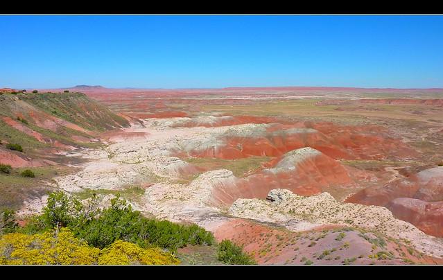 Painted Desert, Arizona...