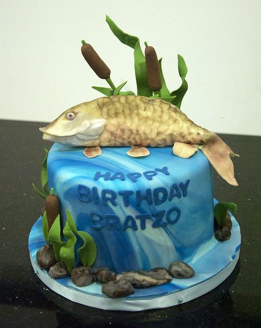 Birthday Cake Jim Fish