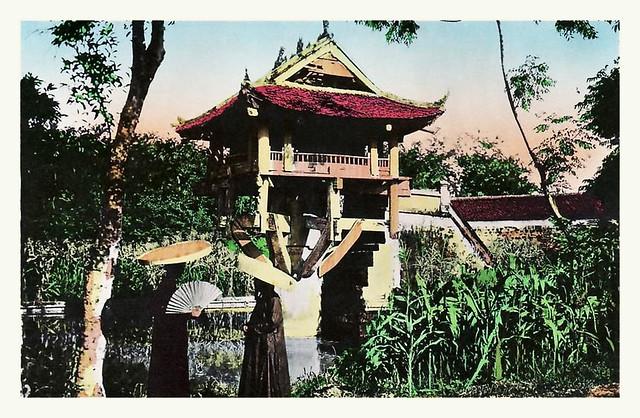 Hanoi - PAGODE MOT COT 1930s