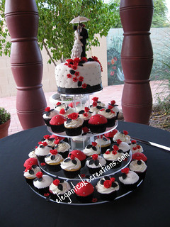 Elegant Cupcake Wedding
