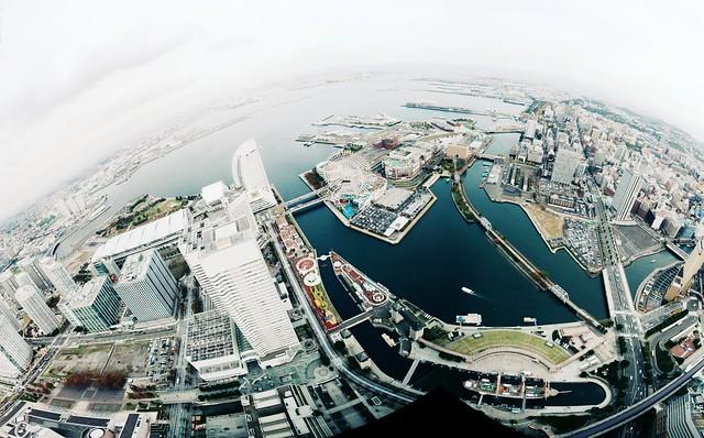 Tokyo Bay from Yokohama