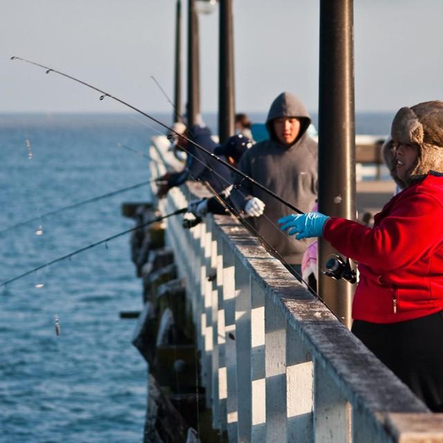 Fishing cap santa cruz wharf flickr photo sharing for Santa cruz fishing