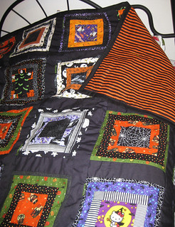 Halloween quilt FINISHED!