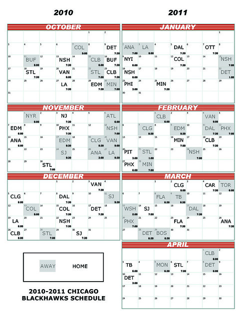 Comprehensive image intended for blackhawks schedule printable