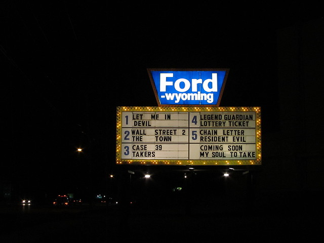 ford wyoming drive in theater dearborn mi flickr photo sharing. Cars Review. Best American Auto & Cars Review