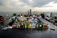 Bangkok - Bar of the Banyan tree