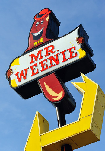 "That's ""Mr. Weenie"" to you!"