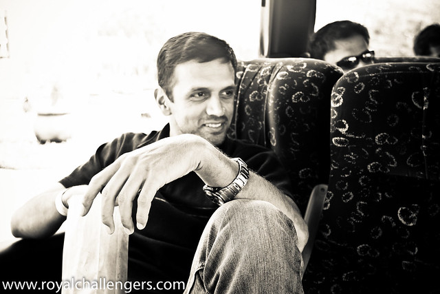 Rahul Dravid | Credit: Royal Challengers Bangalore/Flickr