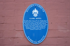 Photo of Globe Hotel, Exmouth blue plaque