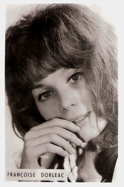 francoise dorleac small collectors card chic and stylish flickr photo sharing. Black Bedroom Furniture Sets. Home Design Ideas
