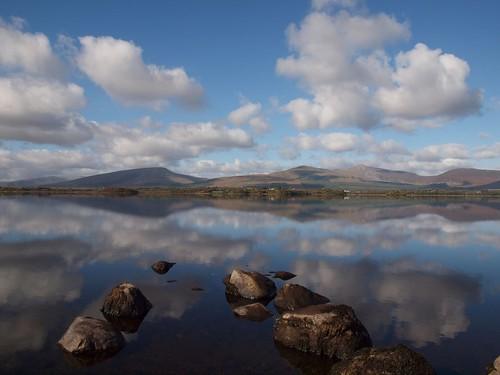 ireland lake nature clouds reflections mayo greatphotographers kevinmcnally beltra