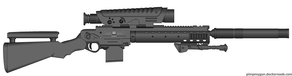 Pollux sniper rifle