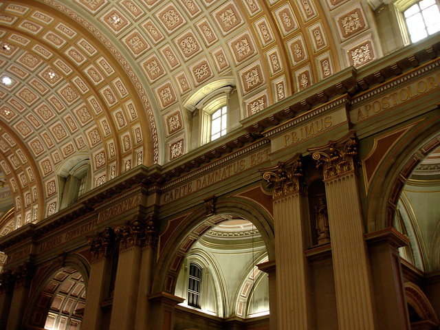 Photo for Coffered cathedral ceiling