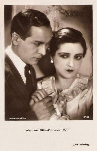 Carmen Boni, Walter Rilla