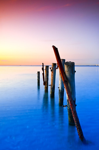 wood sunset landscape pier decay jetty donkey pole timeexposure filter graduate henderson tobacco remnant cokin woodmanpoint colorphotoaward afnikkor24mmf28d bestcapturesaoi nikond300s tripleniceshot elitegalleryaoi graduatetobacco artistoftheyearlevel4
