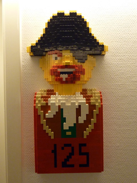 Lego Hotel Pirate Room