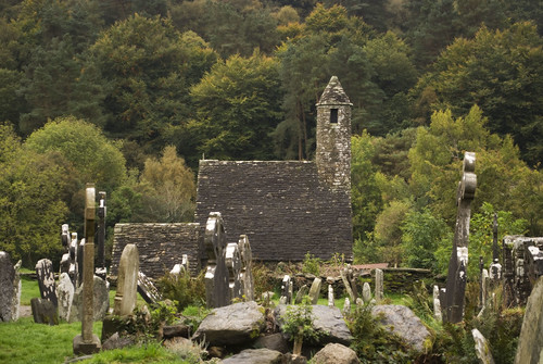 Glendalough - St. Kevin's Church