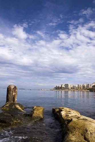 sea beach mediterranean stones malta dodo mermaid stpaulsbay zaah