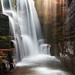 THE WATERFALL ROOM -- Glacier National Park, MT by Light of the Wild